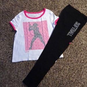 New Youth Girls Size 14 Matching Outfit.